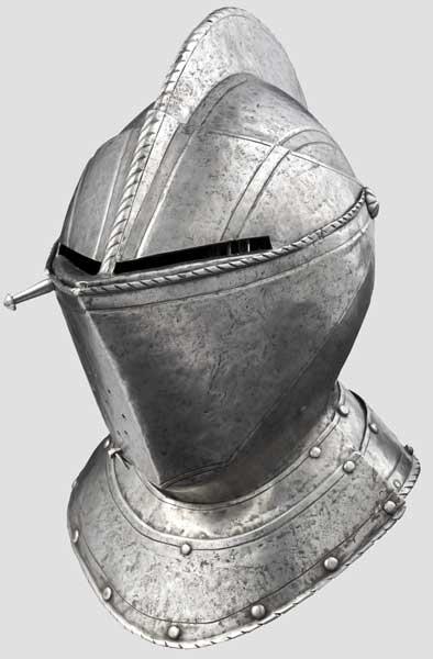 Geschlossener Helm