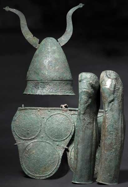 Rüstung eines Samnitischen Kriegers